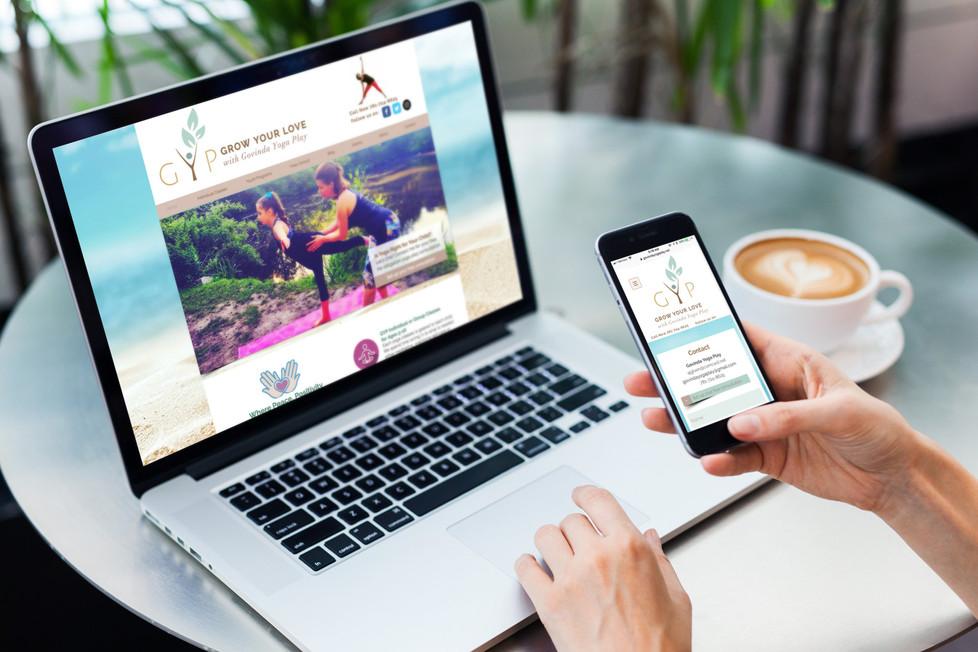 Govinda Play Yoga Website