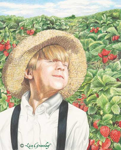 Kissed by Strawberries on the Hill