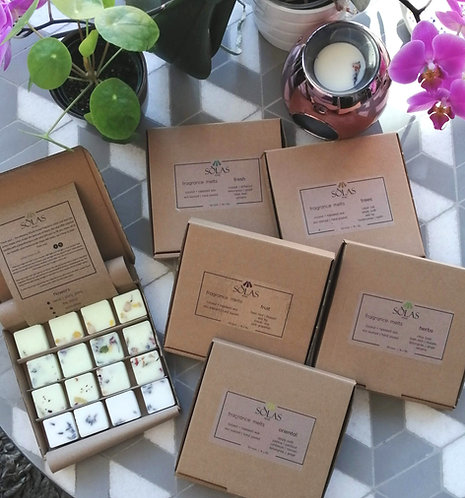 fragrance melts selection box
