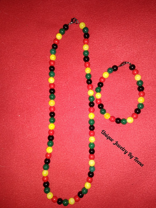 JAMAICAN JEWELRY SET