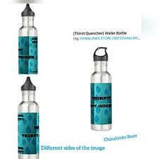 THIRSTY THE THIRST QUENCHER THERMOS