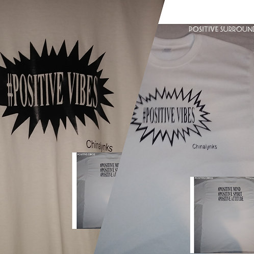 POSITIVE VIBES T-SHIRTS