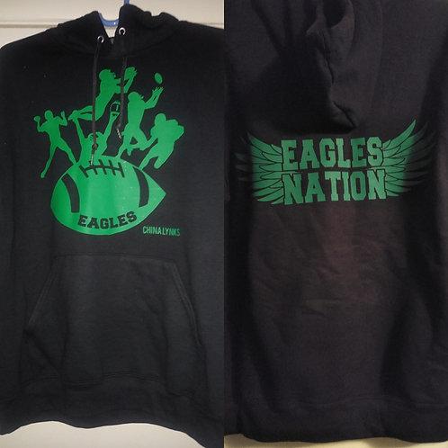 FOOTBALL HOODIES (EAGLES)