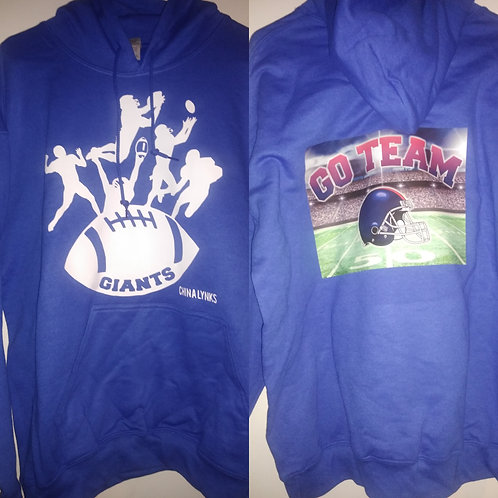 FOOTBALL HOODIES (GIANTS)