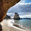 Cathedral Cove looking gorgeous as ever.