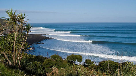 The perfect Raglan surf break