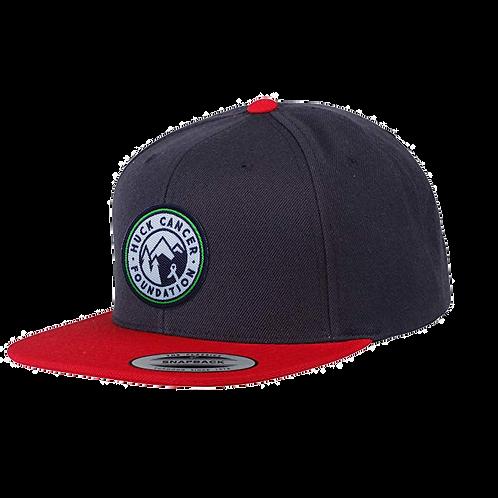 Snapback Roundel Logo Navy Cap
