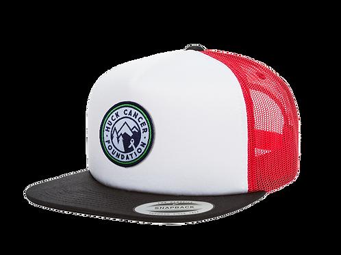Snapback Roundel Logo Mesh Cap