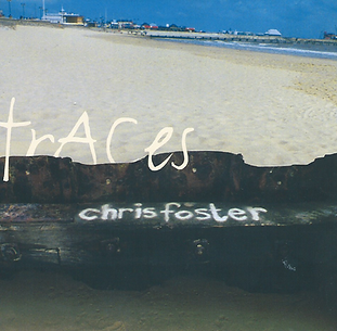 Chris Foster Traces English folk album 1999 CD cover design