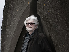 Chris Foster English folk musician portrait colour