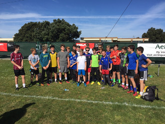 Great turnout for First Boys Feile 2017 Practice