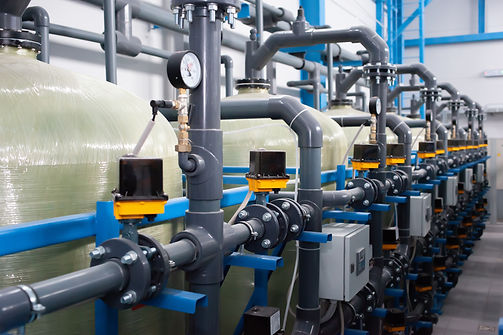 Automation of the industrial water treat