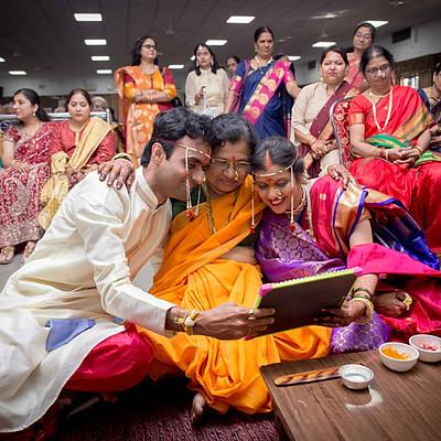 Akshay & Prachi