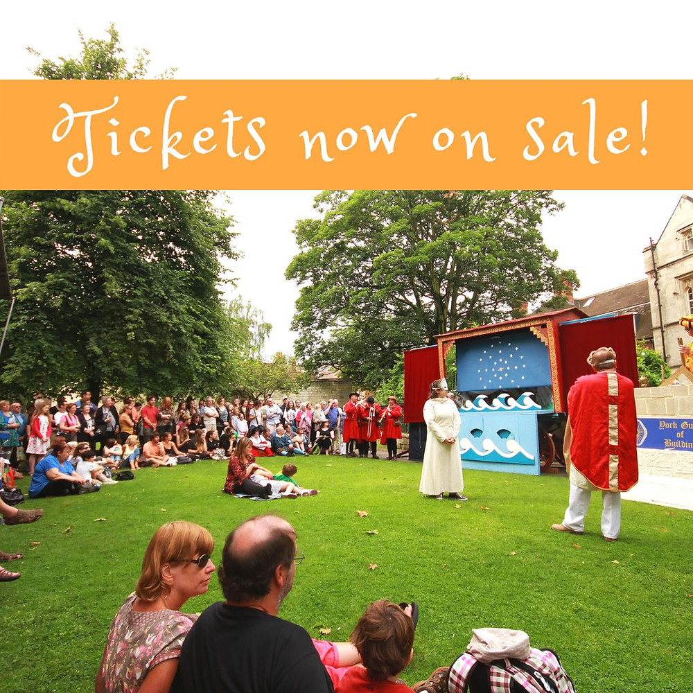 York Mystery Plays 2018 - Tickets Now on Sale