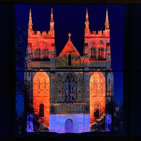 Accessible & Free Selby Abbey Illumination Event, THE PILGRIM, 22-24 November 2019