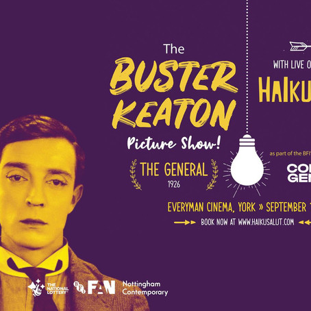 The Buster Keaton Picture Show feat. Haiku Salut
