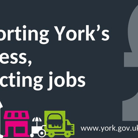 City of York Council: Coronavirus Business Support Fund Launched - Applications Now Open (09/04/20)