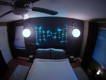 Pipe & LED Light Fi