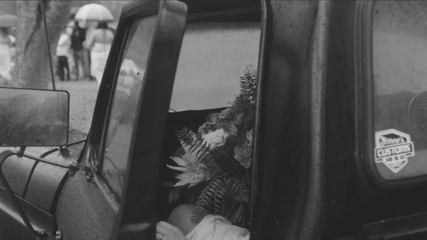 F Truck Bouquet