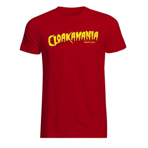 CLOAKAMANIA RED TEE