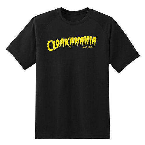 CLOAKAMANIA BLACK TEE