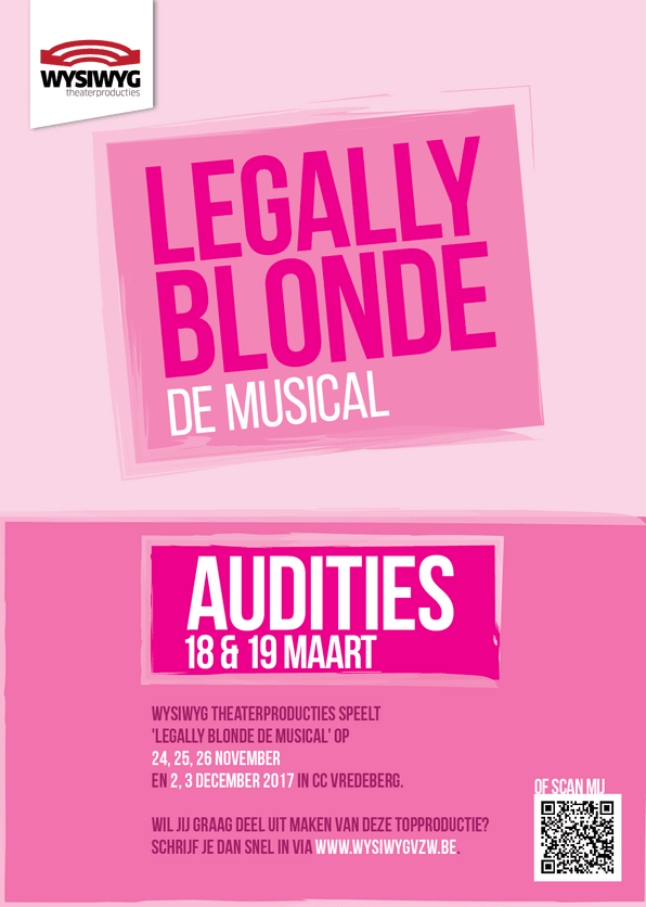 Legally Blonde flyer