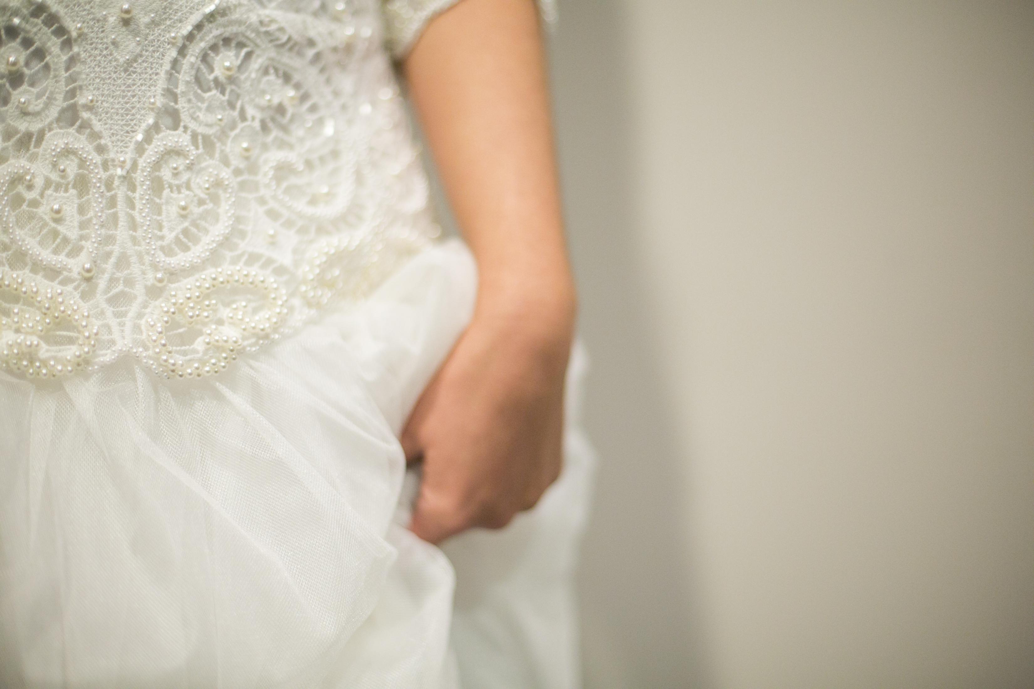 desgalhes vestido de renda branco