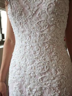 Detalhes vestido