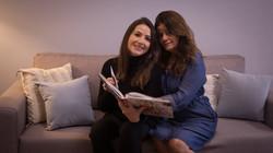 Fernanda Moura e Angela M.