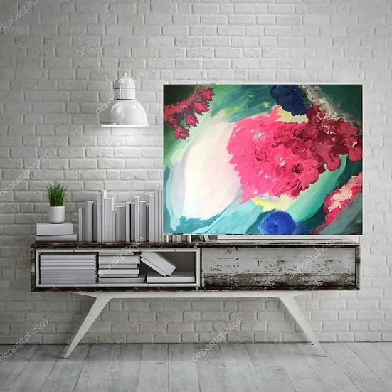 """""""Dania"""" (2018) Original Painting"""