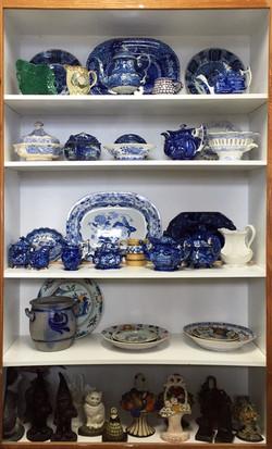 Pottery Shelf