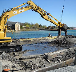 St. James Marine Co. & Fogg Towing | Marina Dredging