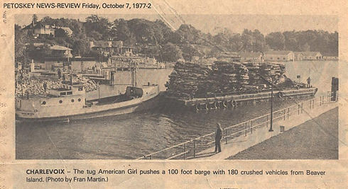 St. James Marine Co. & Fogg Towing | American Girl