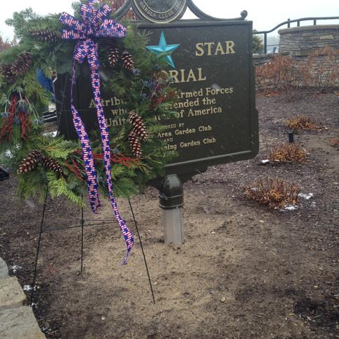 Blue Star Memorial Dedication