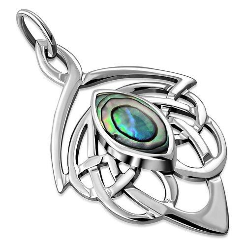 Celtic Knot Elegance 925 Sterling Silver Pendant