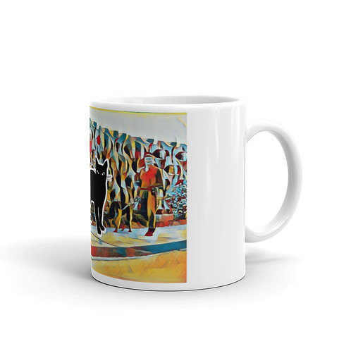 ZEITGEIST91 NFT Collection - Black Cat - Tasse