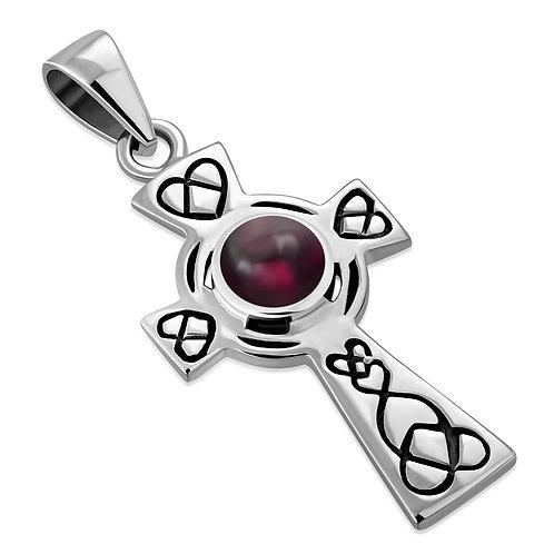 Celtic Cross Elegance 925 Sterling Silver Pendant