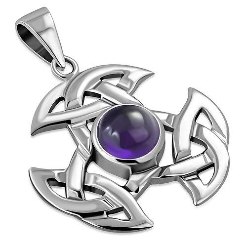 Celtic Trinity Knot Elegance Premium 925 Sterling Silver Pendant