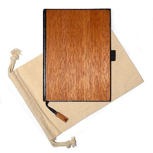 Handgefertigt: 5 X 7 Holz Journal / Planer