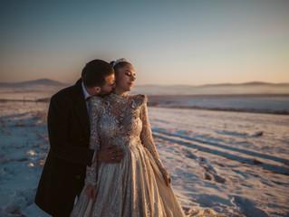 Andrea & Đukica | Kiss in the snow