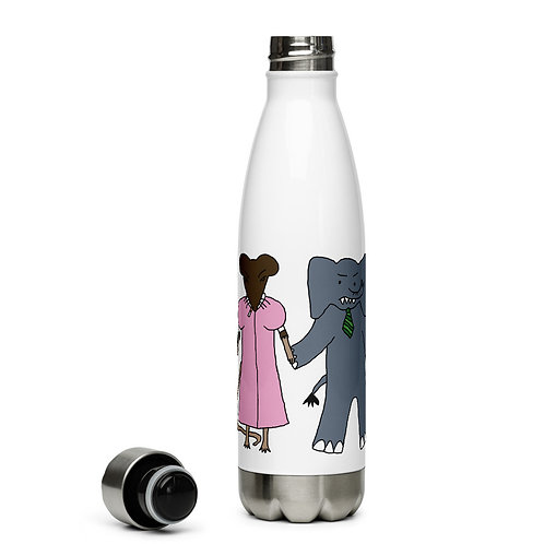 Angry Duck Shop stainless steel water bottle