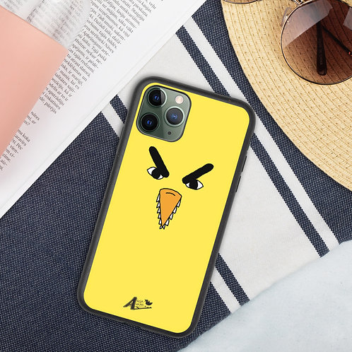 Angry Duck Face iPhone Case