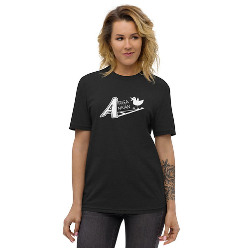 Angry Duck black unisex t shirt