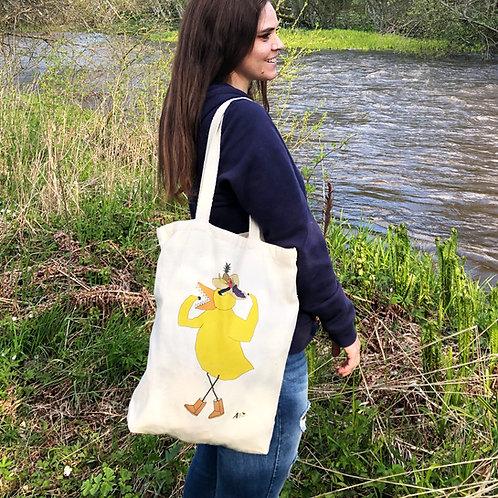Angry Duck organic tote bag