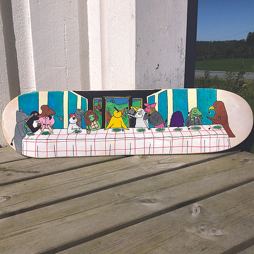 Angry Duck Shop skate deck