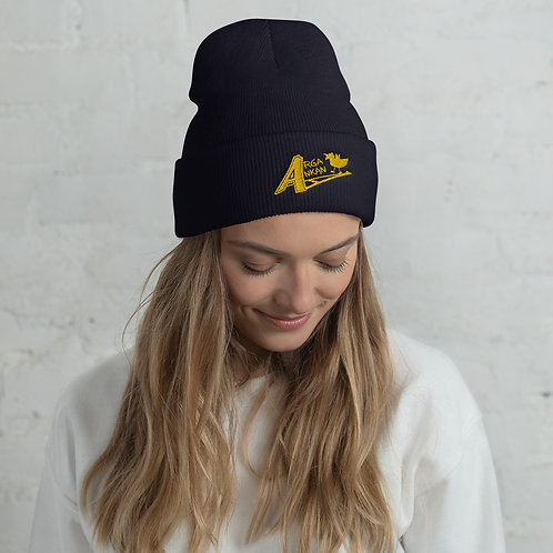 Angry Duck Navy Beanie