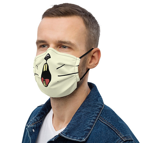 Angry Duck Specky lemming rodent face mask