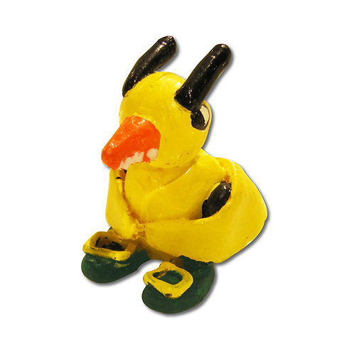 Angry Duck Mini Resin Toy
