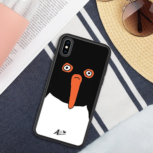 Lardy Oystercatcher bio degradable iphone case
