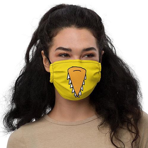 Angry Duck Yellow Beak facemask